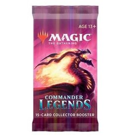 Magic: The Gathering MTG CMR Commander Legends Collector Booster Pack