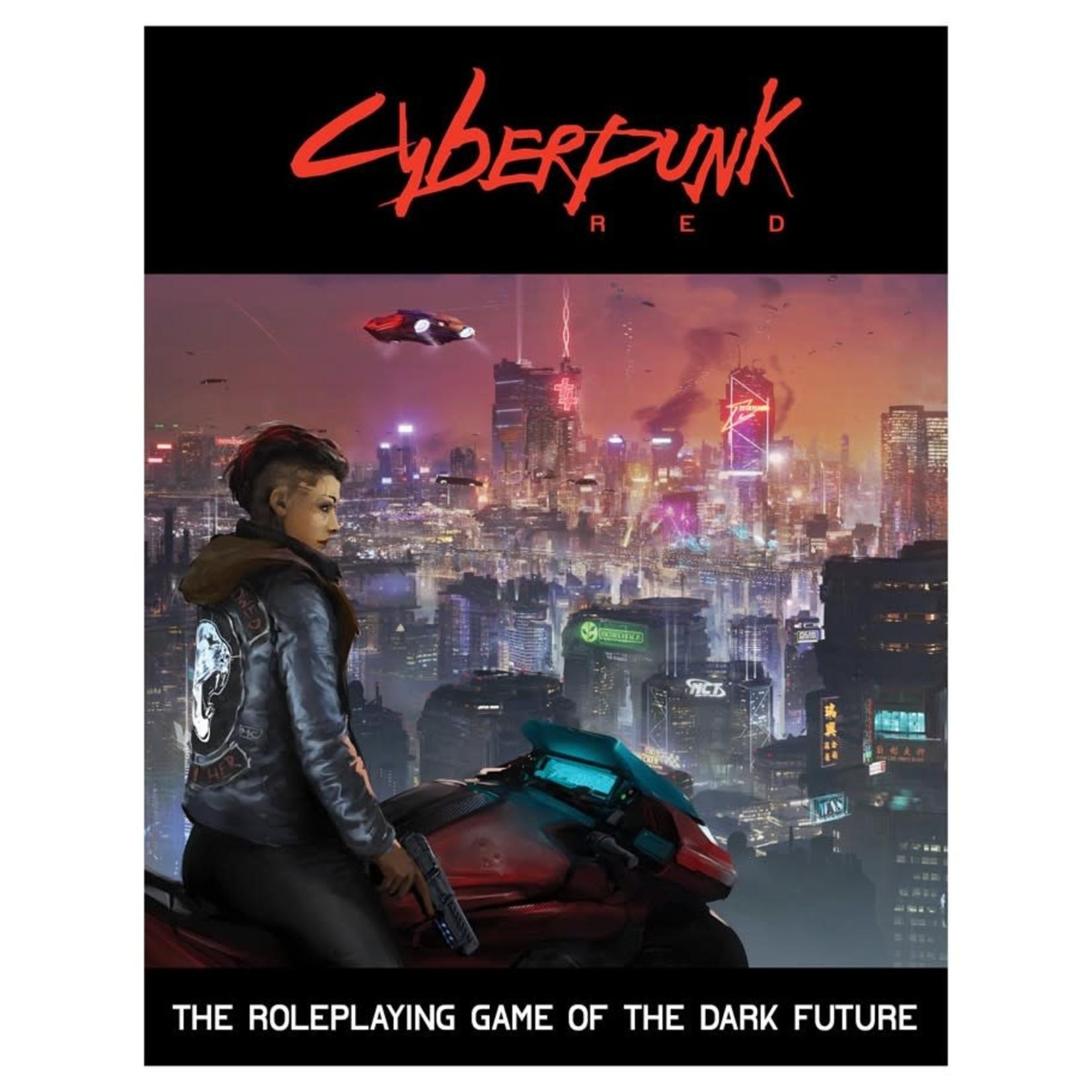 R. TALSORIAN GAMES Cyberpunk Red Core Book