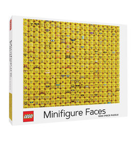Chronicle Books Lego Minifigure Faces by Michelle Claire - 1000 Piece Jigsaw Puzzle