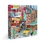 Eeboo New York City Life - 1000 Piece Jigsaw Puzzle