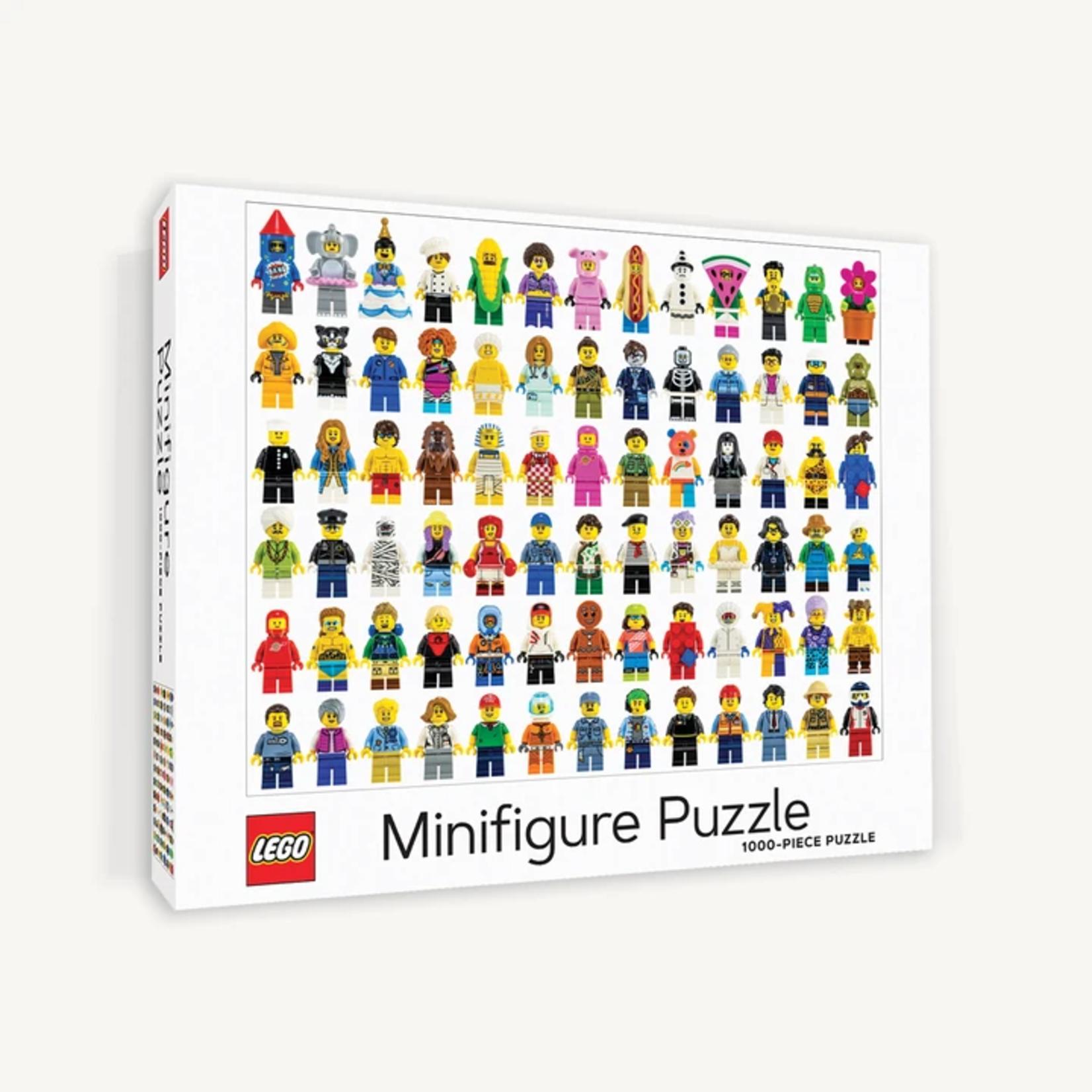 Chronicle Books Lego Minifigure - 1000 Piece Jigsaw Puzzle