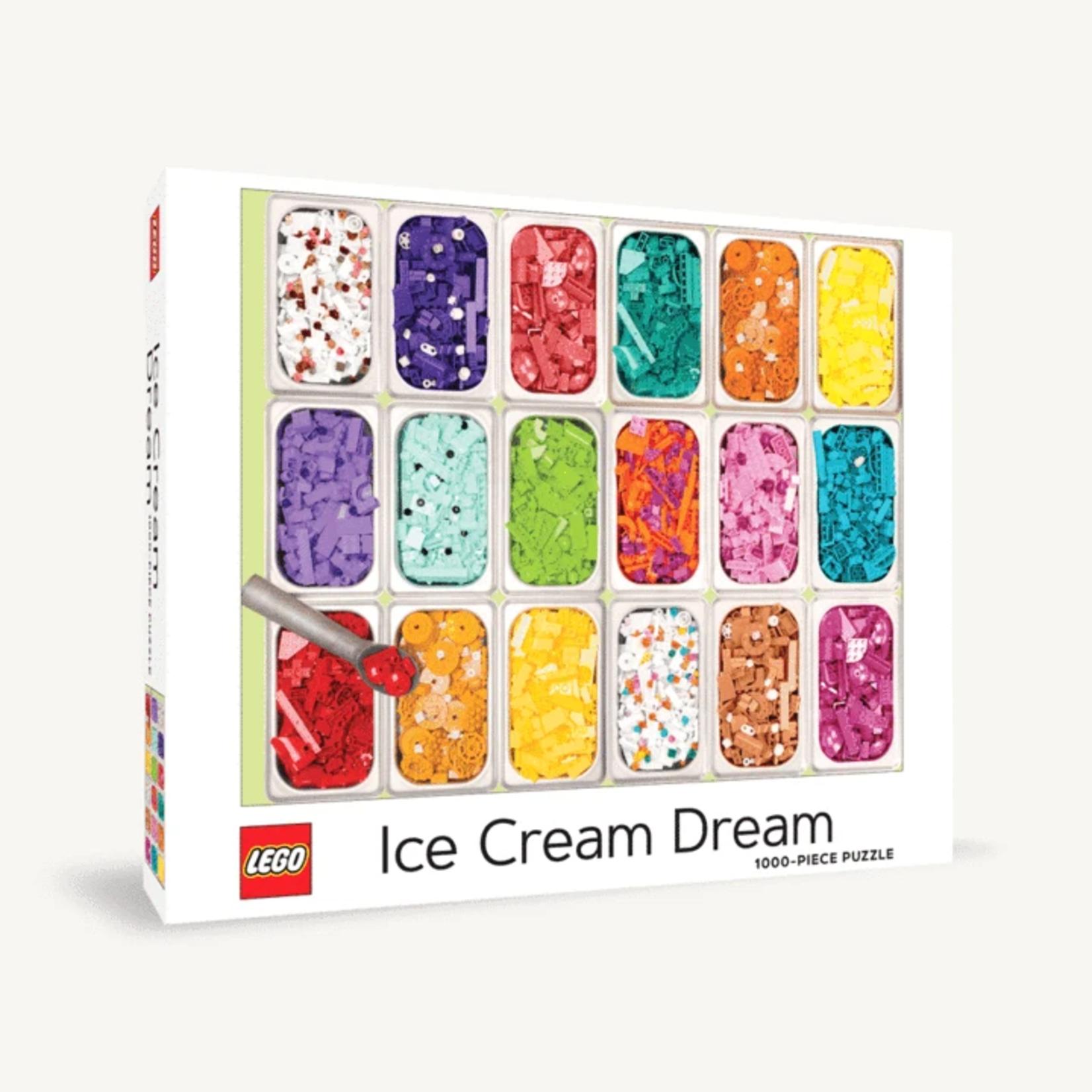 Chronicle Books Lego Ice Cream Dream - 1000 Piece Jigsaw Puzzle