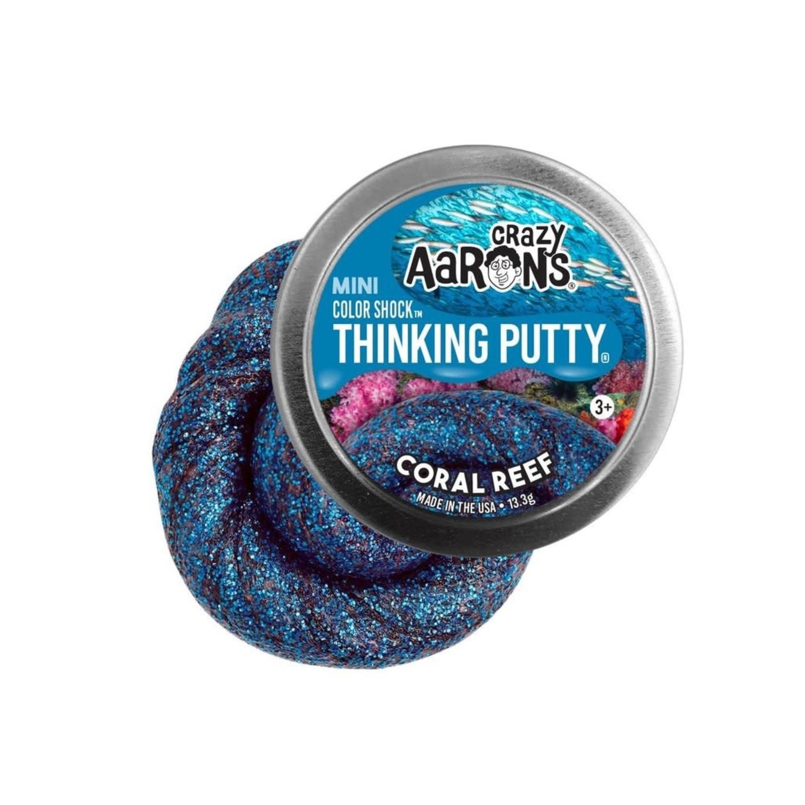 """Thinking Putty: Coral Reef (2"""")"""
