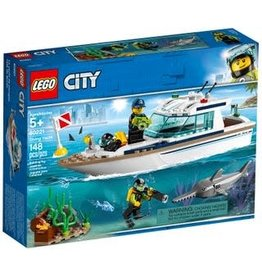 LEGO Lego City Diving Yacht