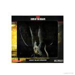 WizKids Minis Dungeons & Dragons: Premium Adult Black Dragon