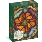 Wild Wisdom Illustrated Bestiary: Monarch Butterfly by Kate O'Hara 750 - Piece jigsaw puzzle