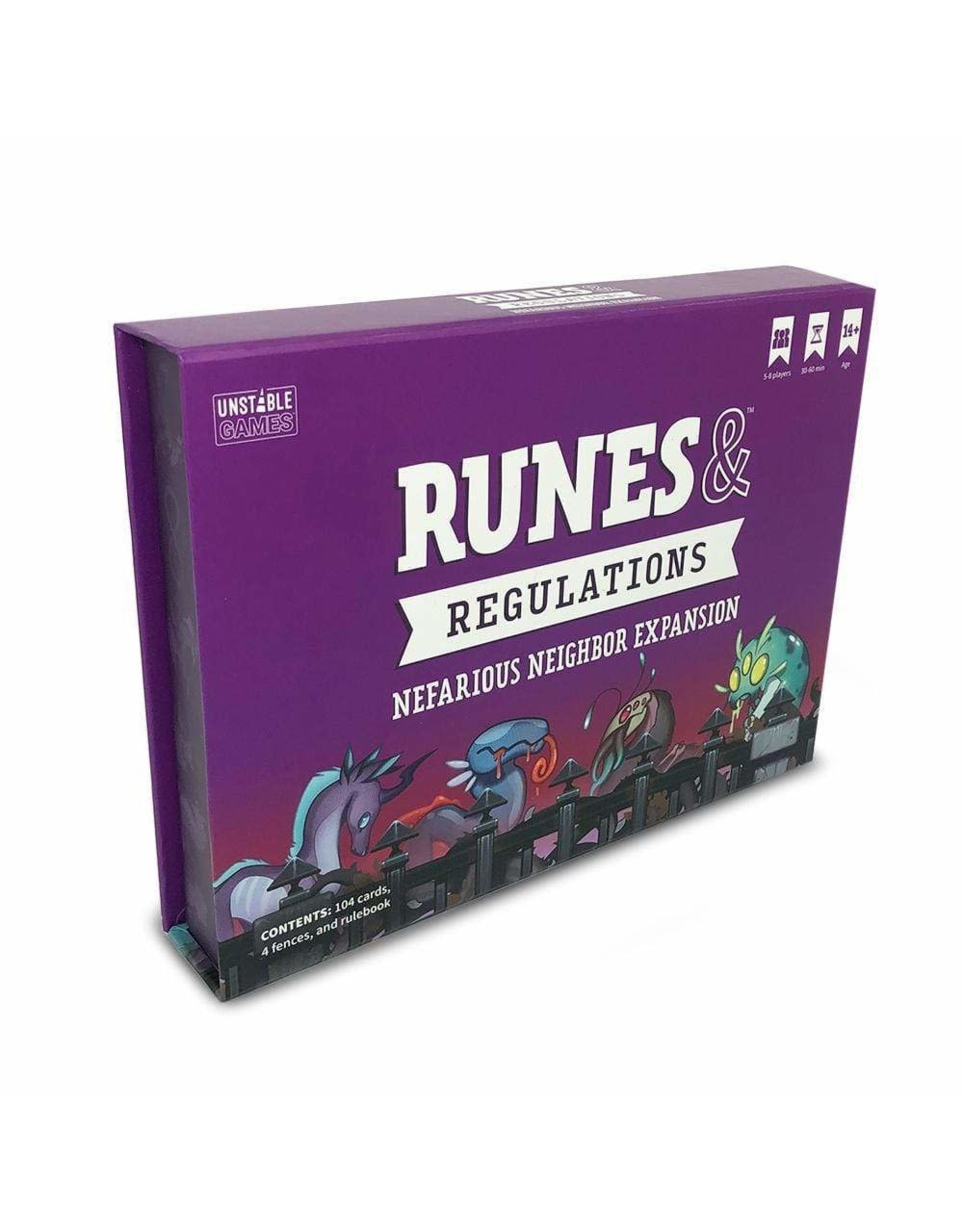 Runes & Regulations: Nefarious Neighbors Expansion