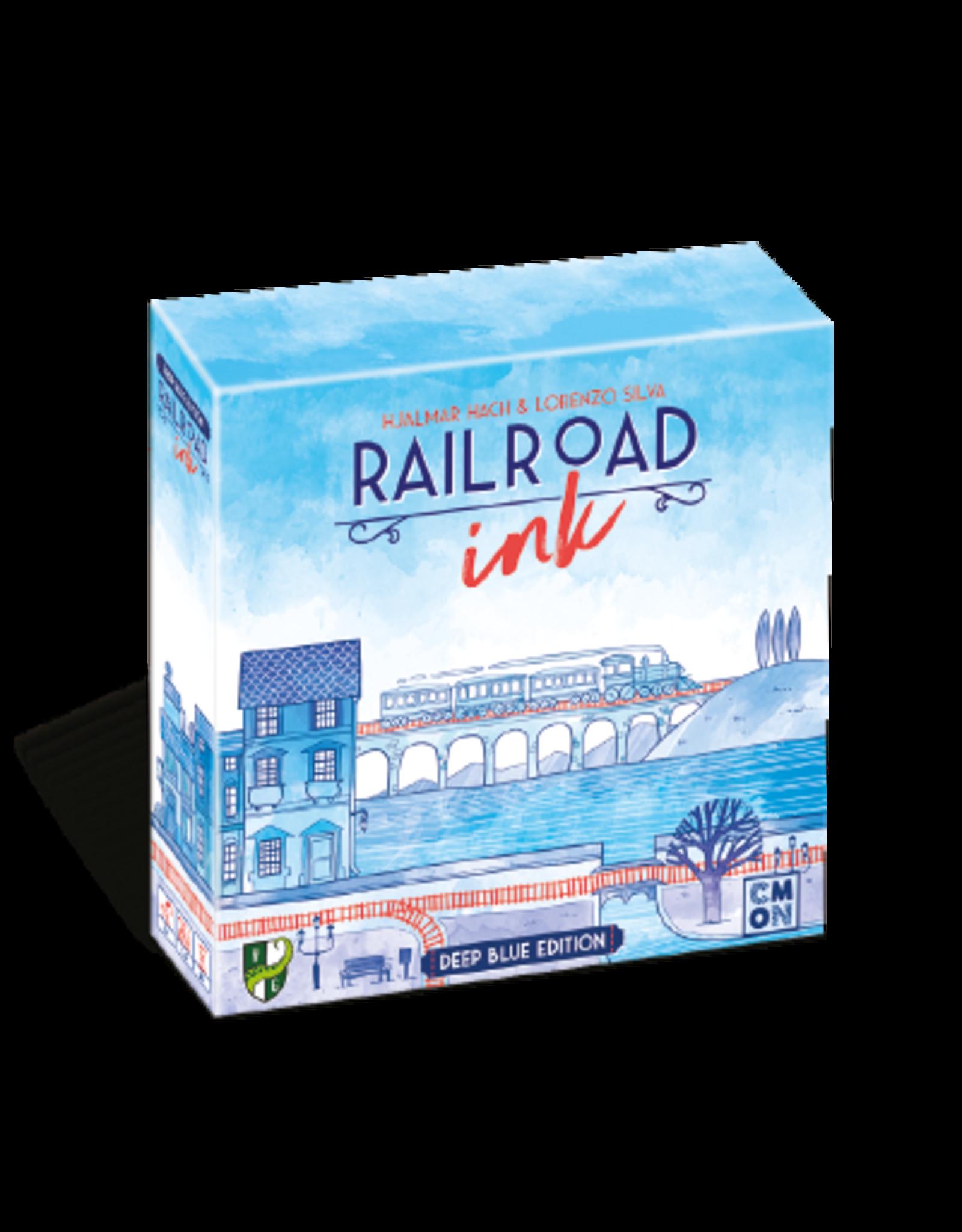 Railroad Ink Blue