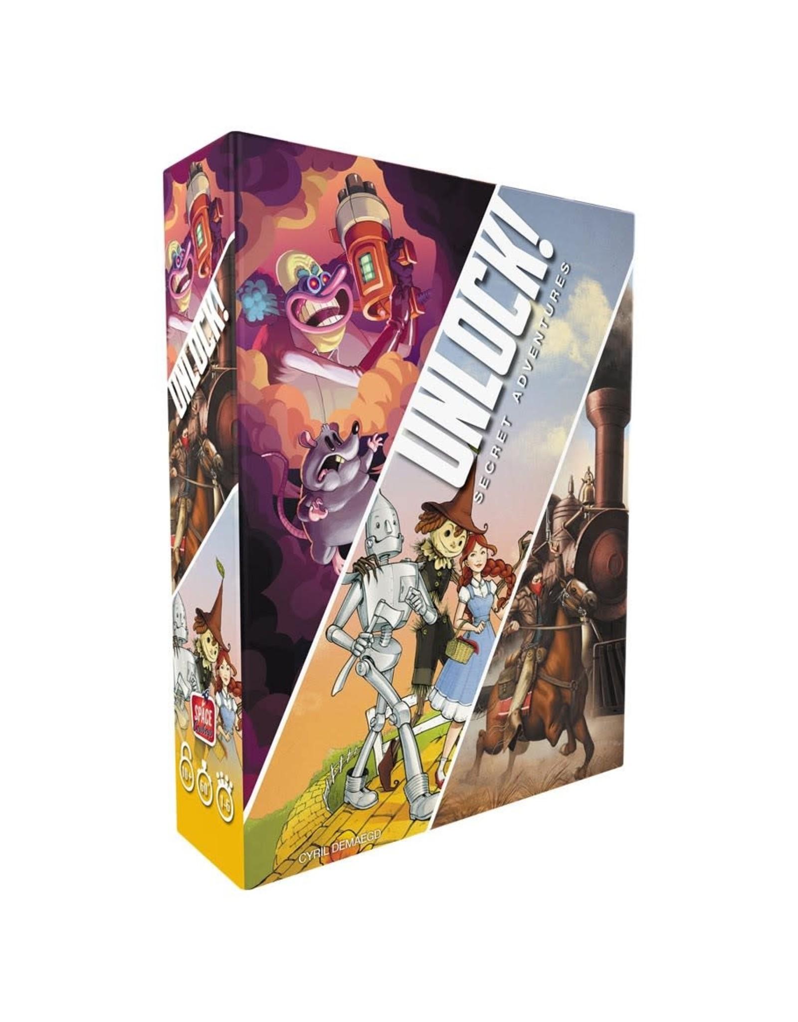 Space Cowboys Unlock! Three-Pack
