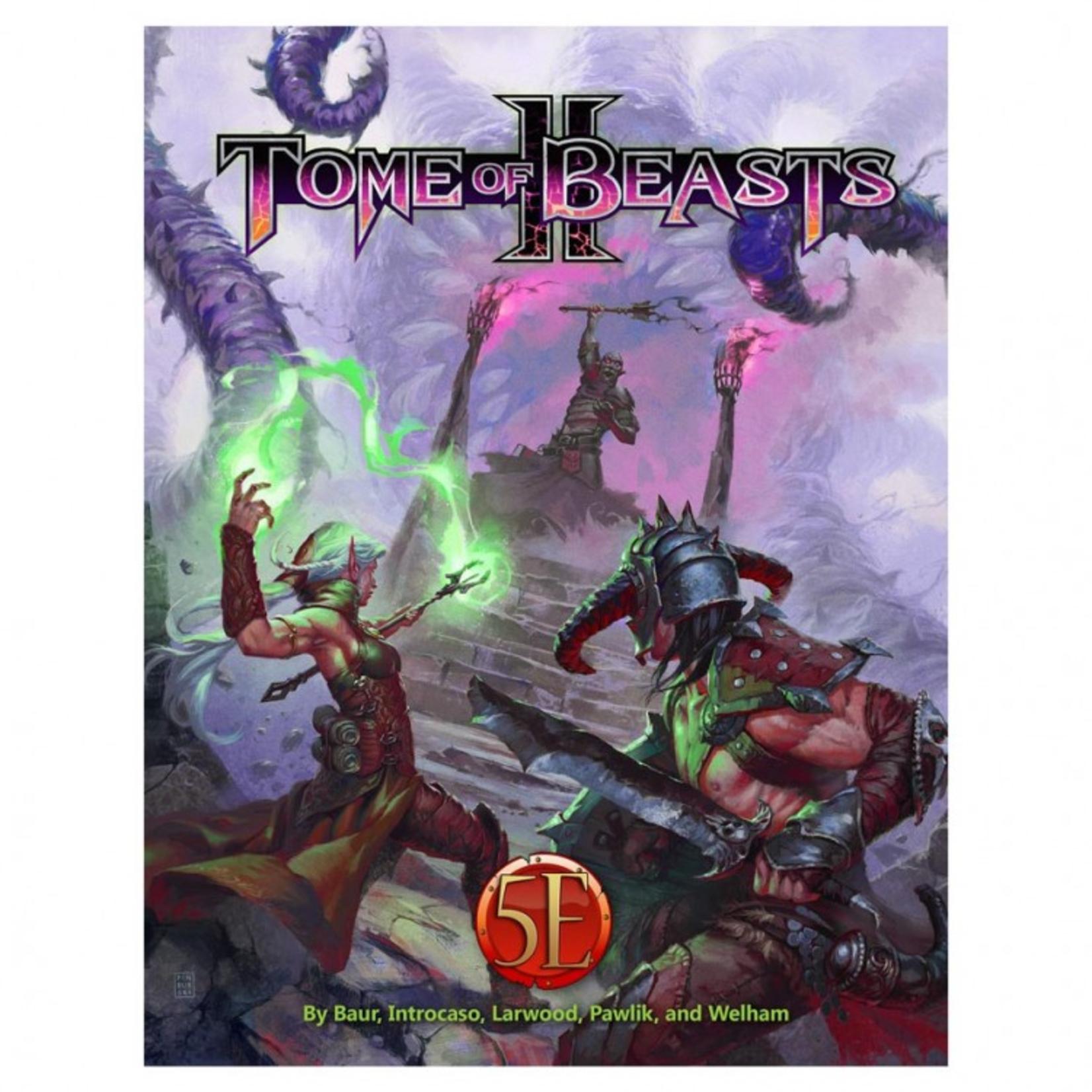 Kobold Press Dungeons & Dragons 5th Edition: Kobold Tome of Beasts II