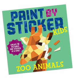 Paint by Sticker Kids Zoo