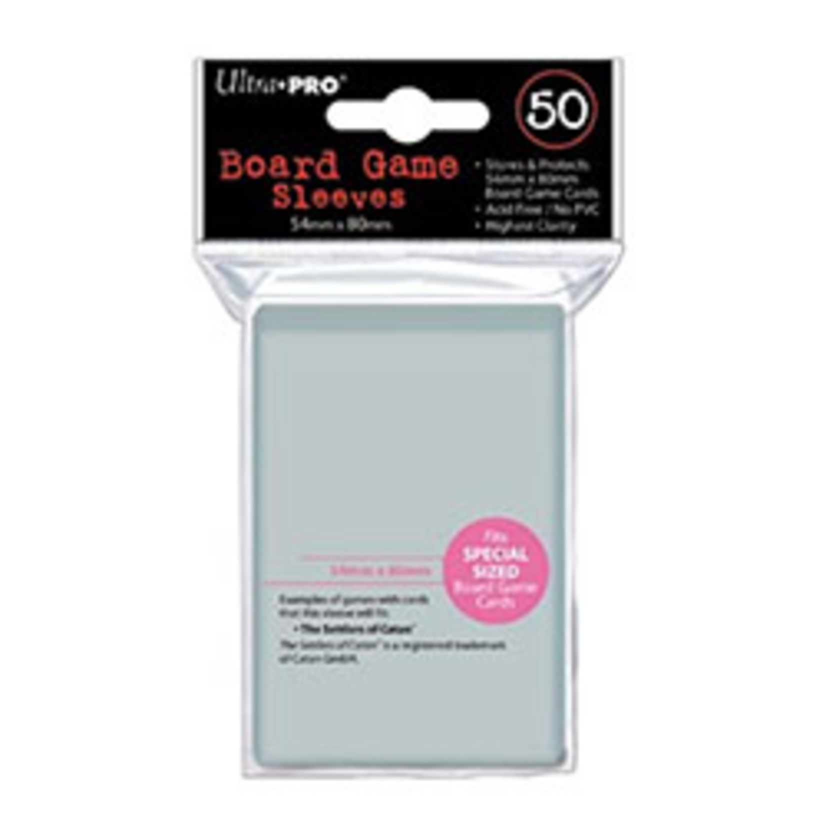 Ultra Pro Deck Protector Board Game Sleeves: 54x80mm (UP)