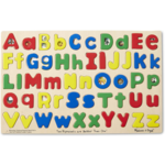 Melissa and Doug Upper and Lowercase Alphabet Wooden Puzzle