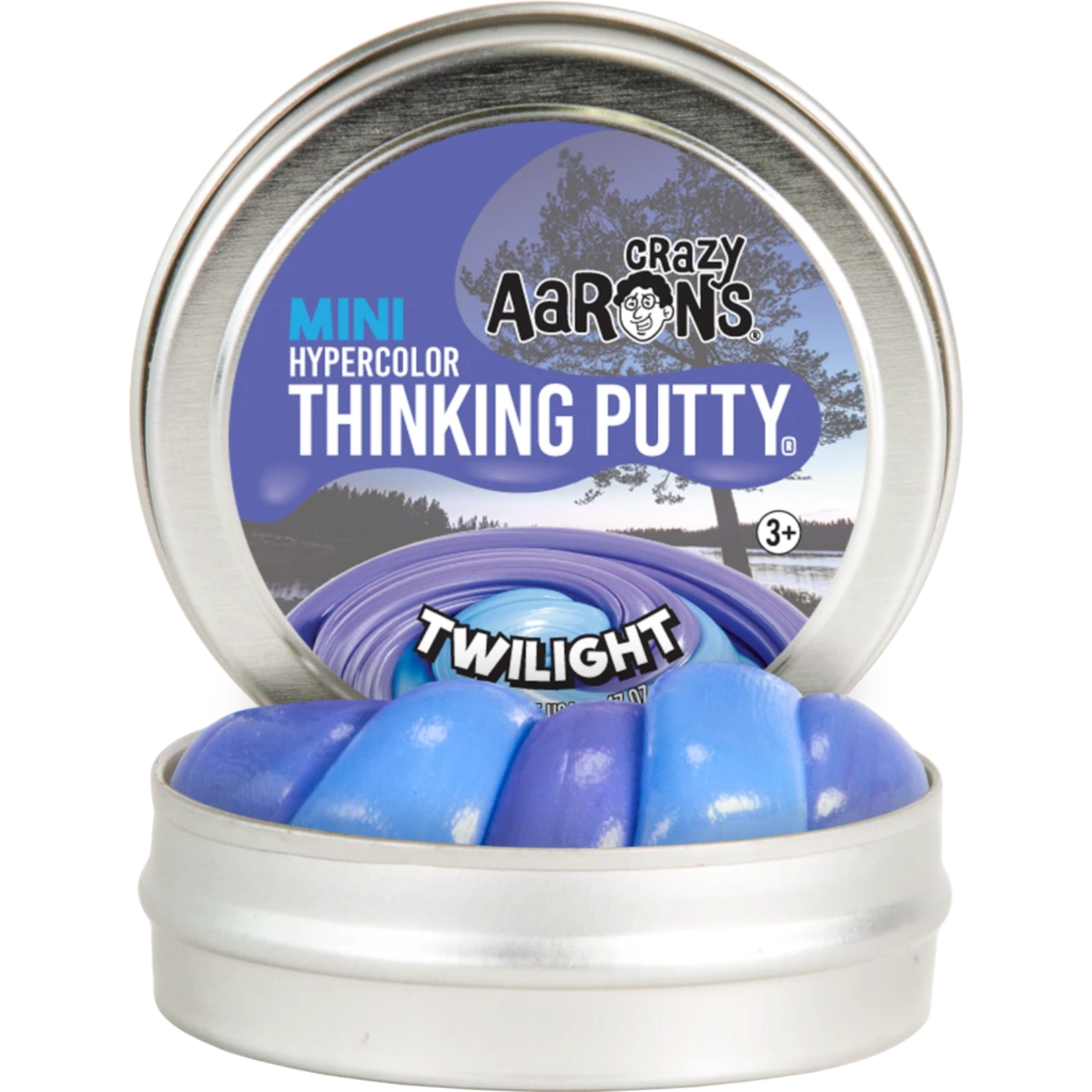 """Crazy Aarons Thinking Putty 2"""" Twilight"""