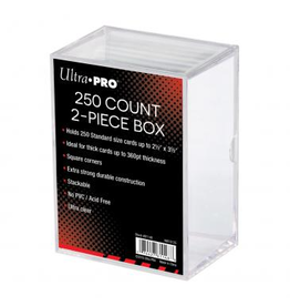 Ultra Pro Deck Box 2pc Clear (250 Ct.)