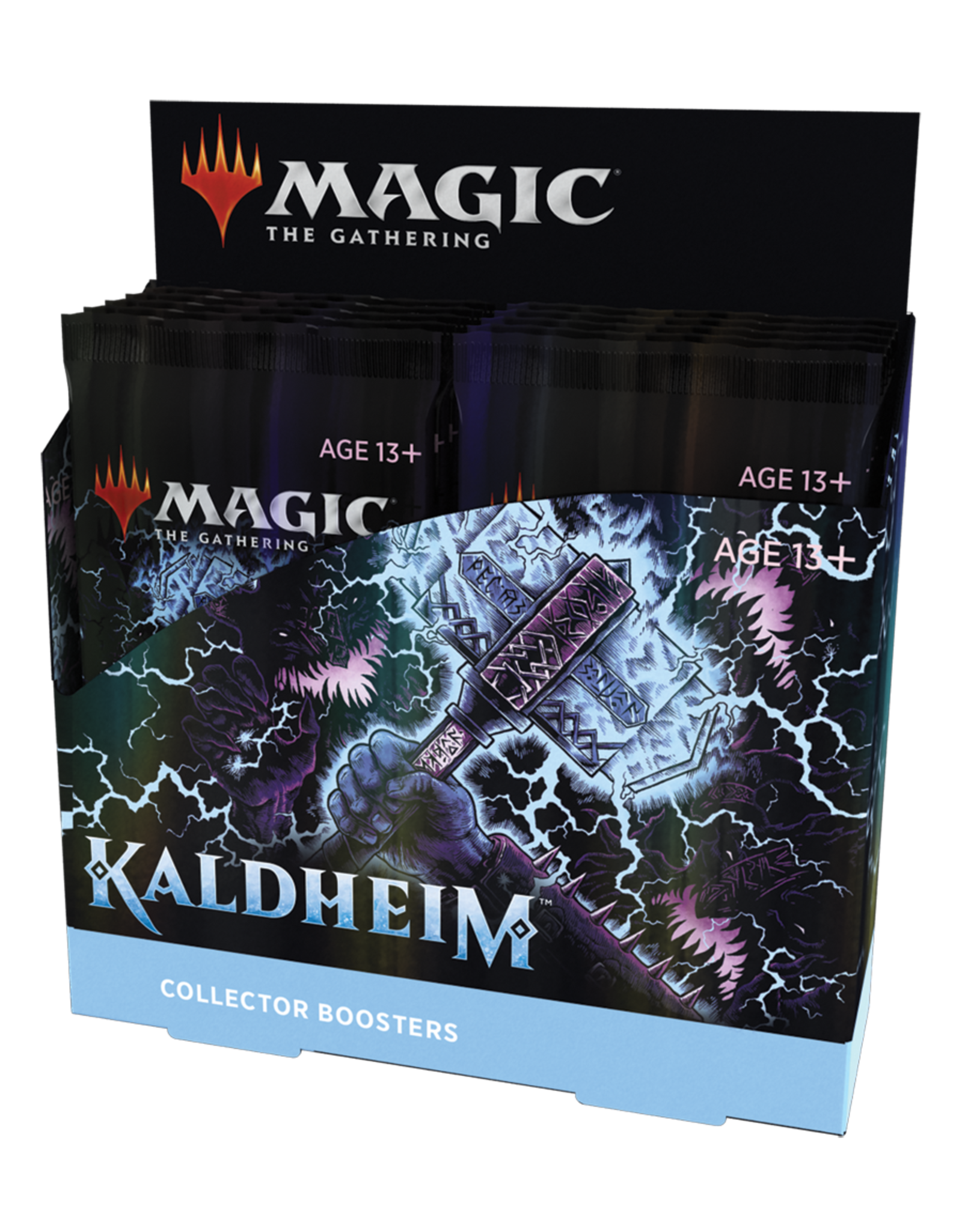 Magic: The Gathering Magic: The Gathering - Kaldheim Collector Booster Box