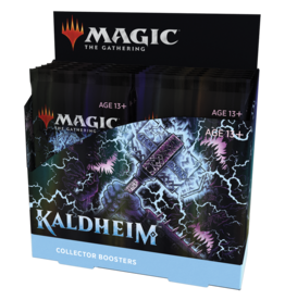 Magic: The Gathering MTG Kaldheim Collector Booster Box