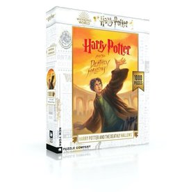 New York Puzzle Company HP Deathly Hallows - 1000 Piece Jigsaw Puzzle