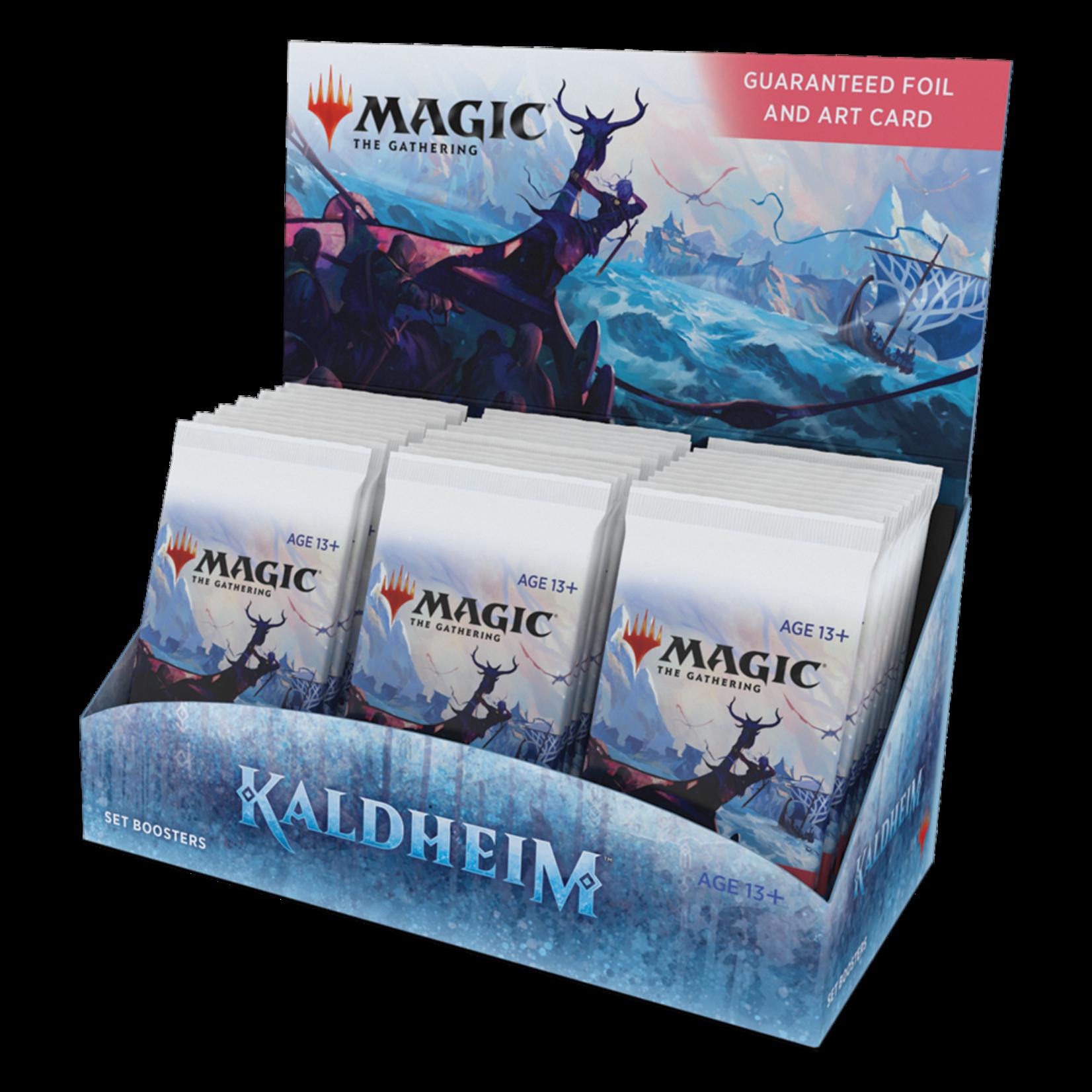 Magic: The Gathering Magic: The Gathering - Kaldheim Set Booster Box