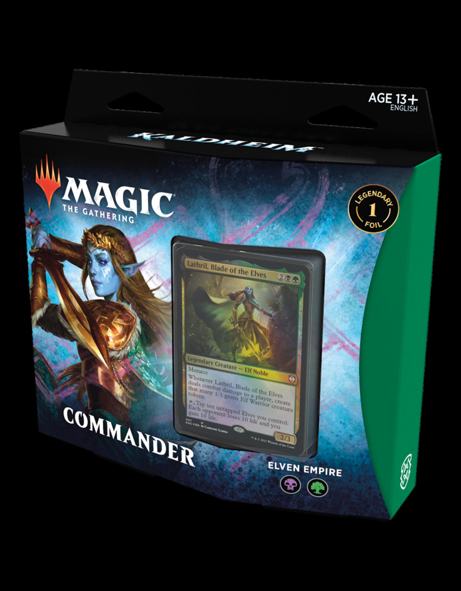 Magic: The Gathering Kaldheim Commander Deck: Elven Empire