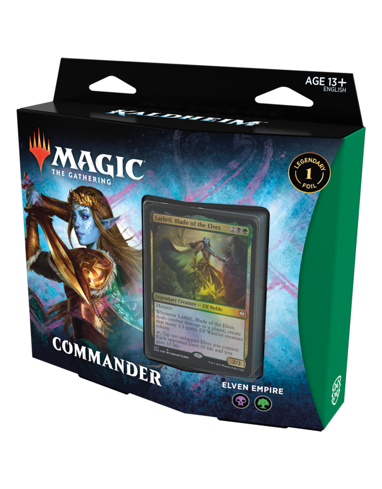 Magic: The Gathering Magic: The Gathering - Kaldheim Commander Deck: Elven Empire