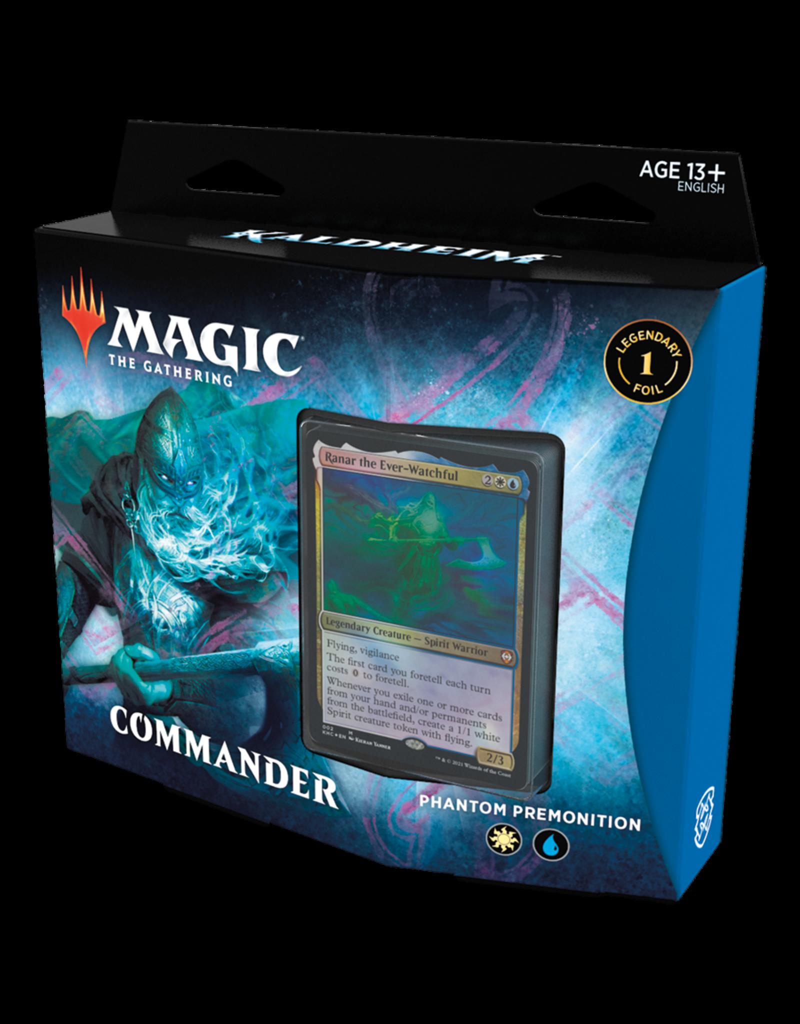 Magic: The Gathering Magic: The Gathering Kaldheim Commander Deck: Phantom Premonition