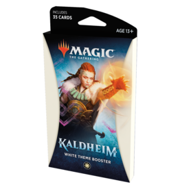 Magic: The Gathering Kaldheim Theme Booster Pack: White