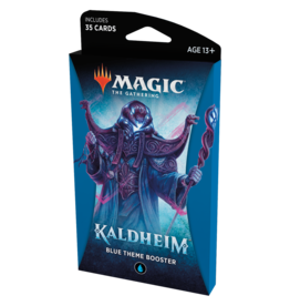 Magic: The Gathering MTG Kaldheim Theme Booster Pack: Blue