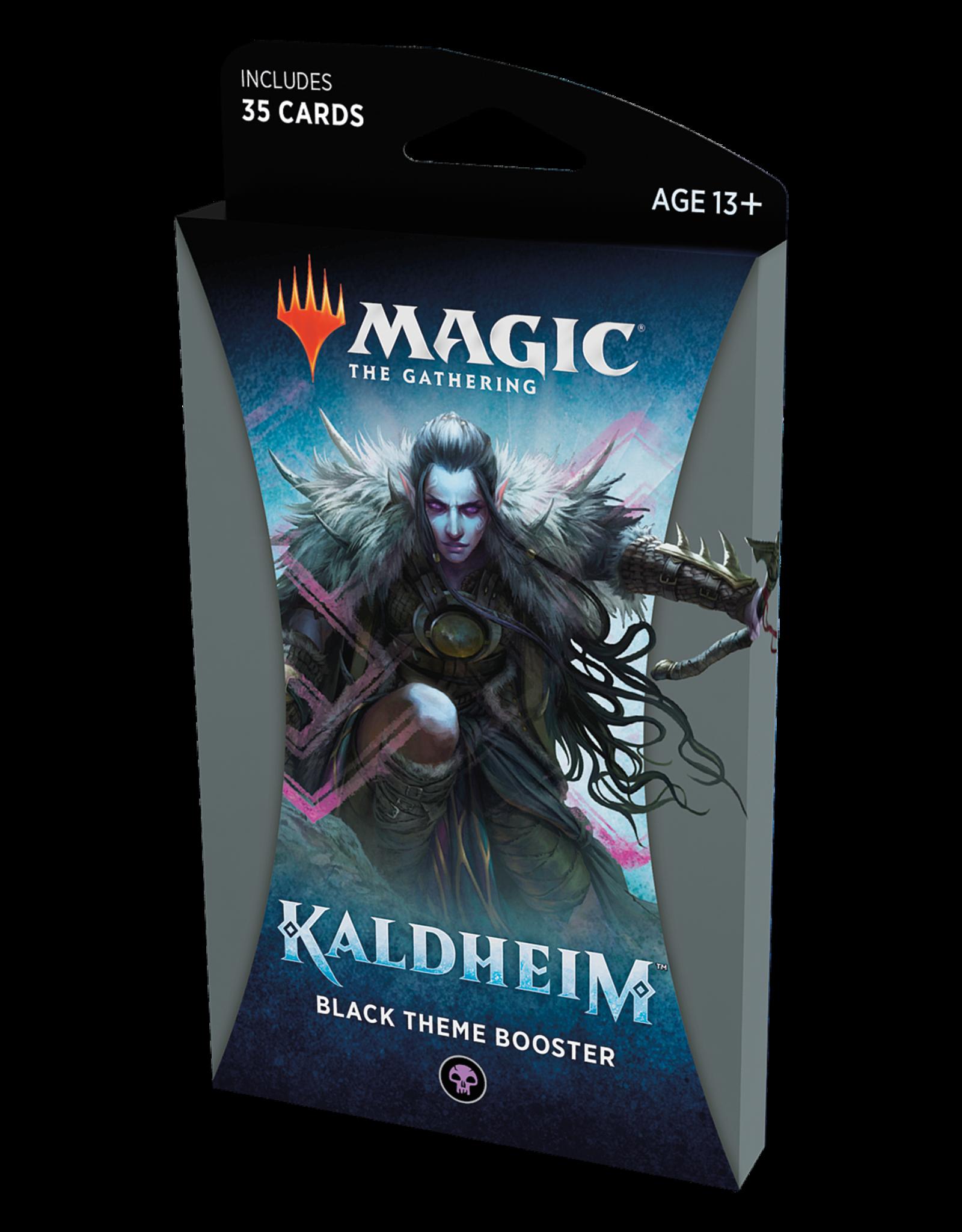 Magic: The Gathering Magic: The Gathering - Kaldheim Theme Booster Pack: Black