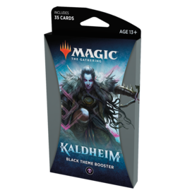 Magic: The Gathering MTG Kaldheim Theme Booster Pack: Black