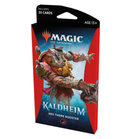 Magic: The Gathering MTG Kaldheim Theme Booster Pack: Red