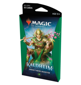 Magic: The Gathering MTG Kaldheim Theme Booster Pack: Green