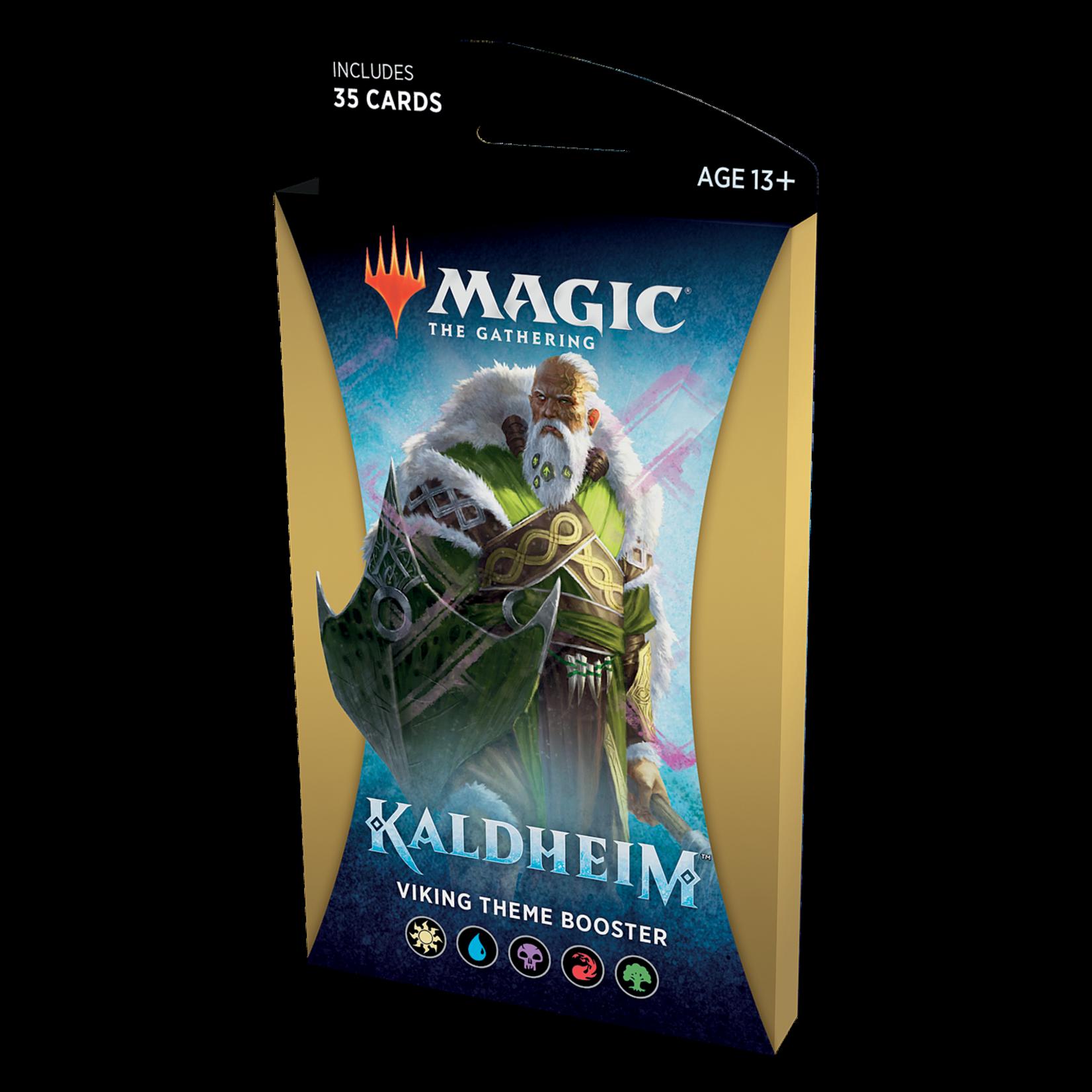 Magic: The Gathering Magic: The Gathering - Kaldheim Theme Booster Pack: Viking