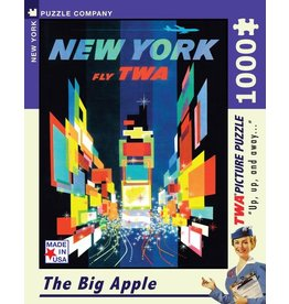 New York Puzzle Company The Big Apple - 1000 Piece Jigsaw Puzzle