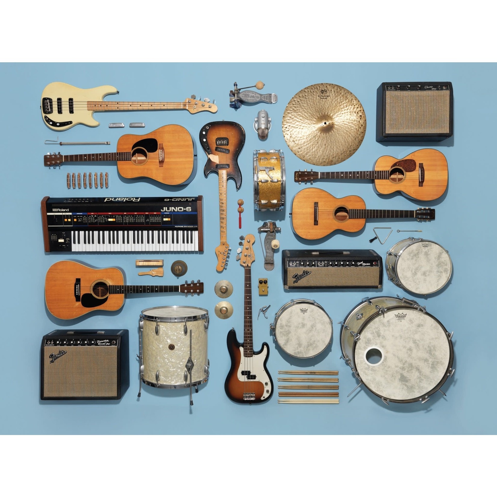 New York Puzzle Company Instrument Collection  - 500 Piece Jigsaw Puzzle
