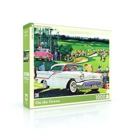 New York Puzzle Company On the Green - 1000 Piece Jigsaw Puzzle