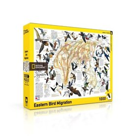 New York Puzzle Company Eastern Bird Migration 1000p