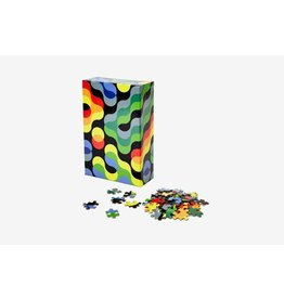 Areaware Pattern Puzzle Arc  - 500 Piece Jigsaw Puzzle
