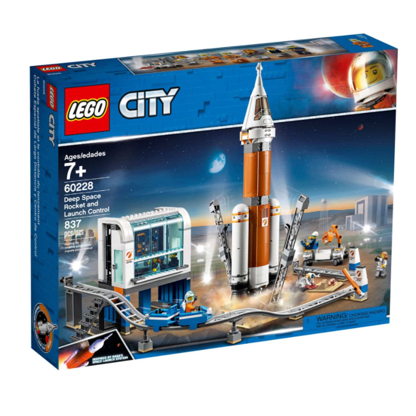 LEGO Lego City Deep Space Rocket and Launch Control