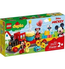 LEGO LEGO DUPLO Mickey & Minnie Birthday Train