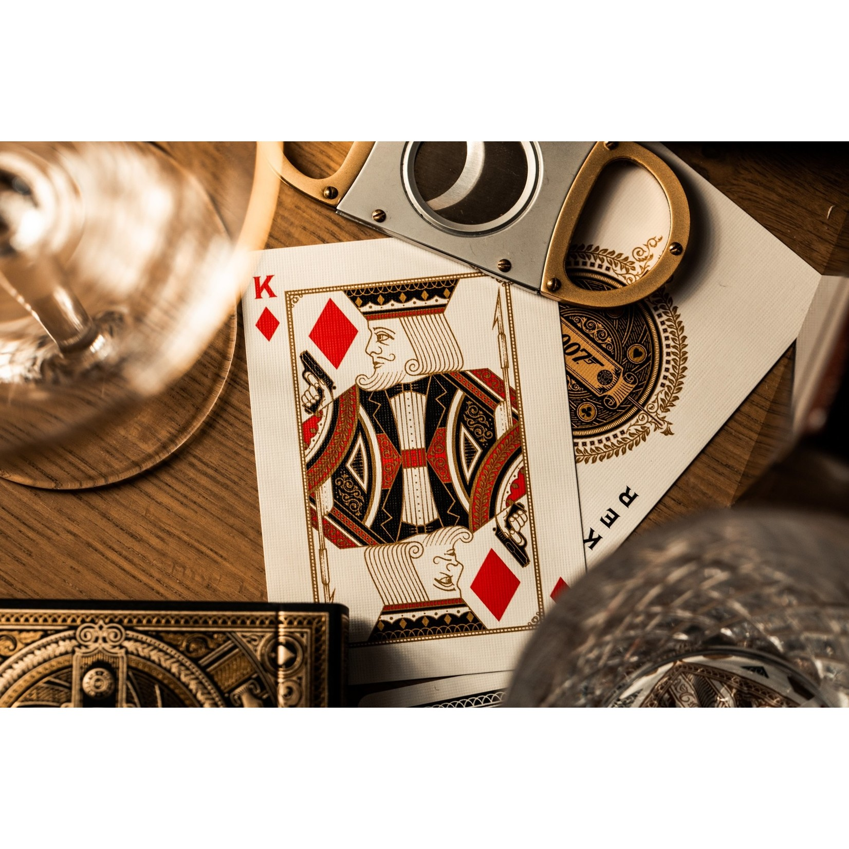theory11 Theory 11 James Bond Playing Cards