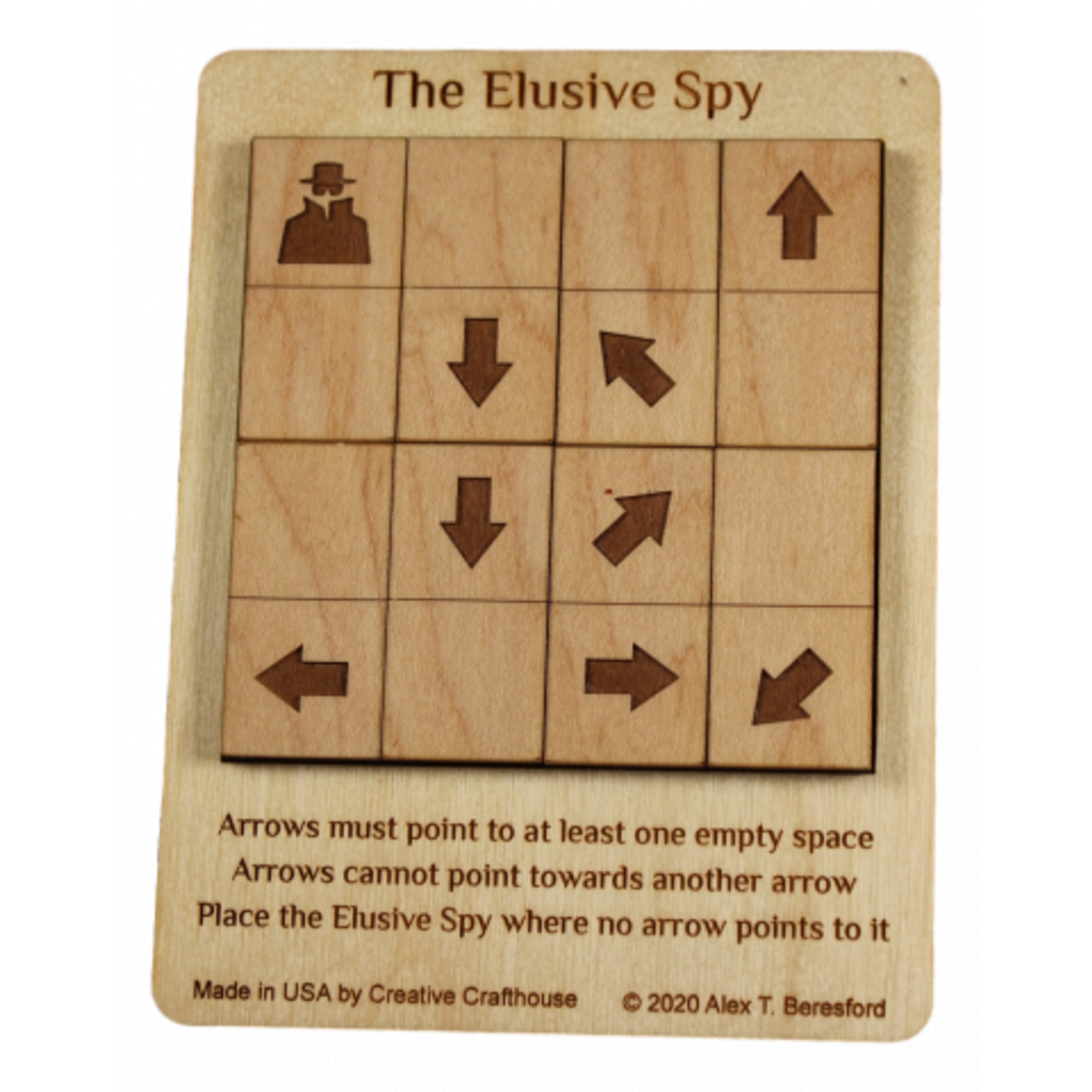 Creative Crafthouse Elusive Spy