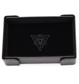 Die Hard Dice Dice Tray Magnetic Rectangle Black