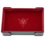 Die Hard Dice Dice Tray Magnetic Rectangle Red