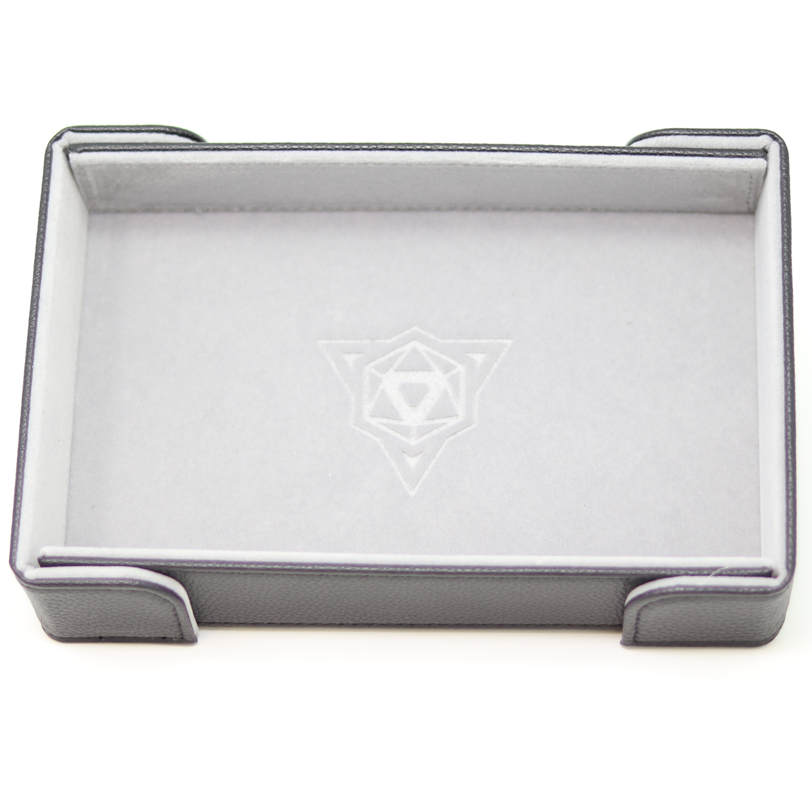 Die Hard Dice Dice Tray Magnetic Rectangle Gray