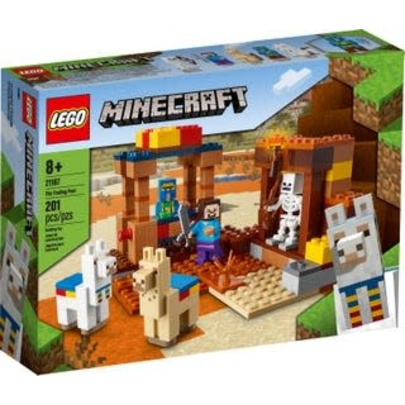 LEGO LEGO Minecraft Trading Post