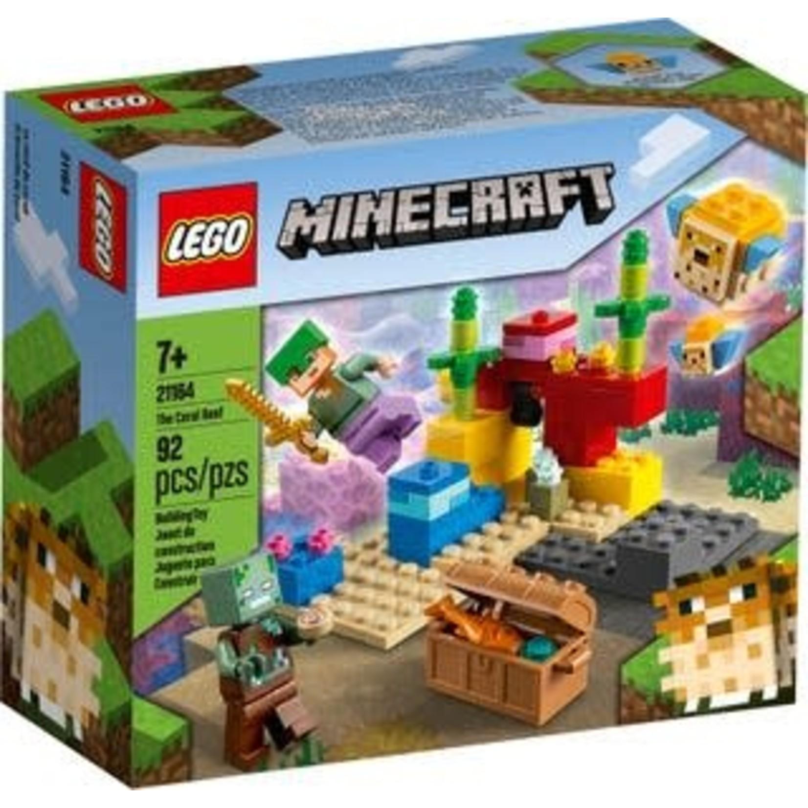 LEGO LEGO Minecraft The Coral Reef