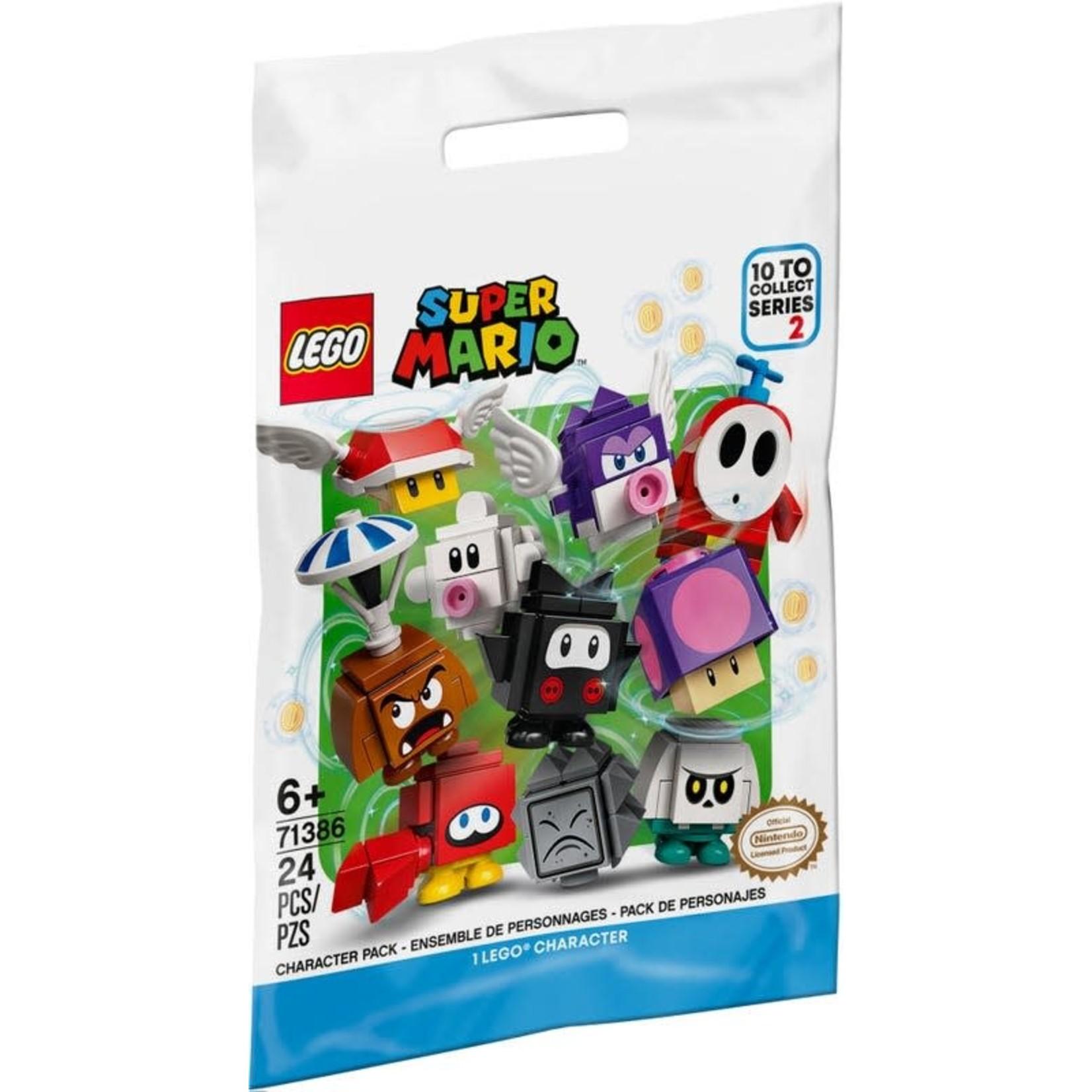 LEGO LEGO Minifigure Mario Character Pack Series 2