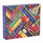 Galison Vintage Library Foil - 1000 Piece Jigsaw Puzzle
