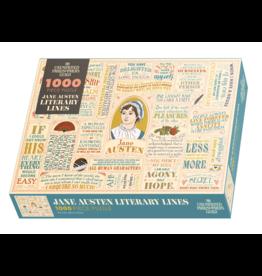 The Unemployed Philosophers Guild Jane Austen - 1000 Piece Jigsaw Puzzle